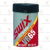 Мазь держания SWIX VR65 Fluor (+3-0 C) Yellow Red Silver 45g